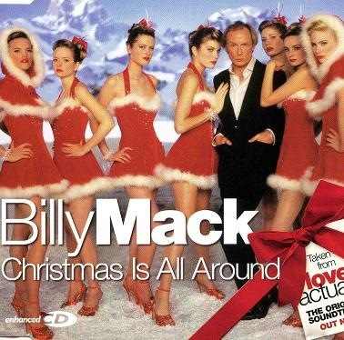 Christmas is All Around Billy Mack