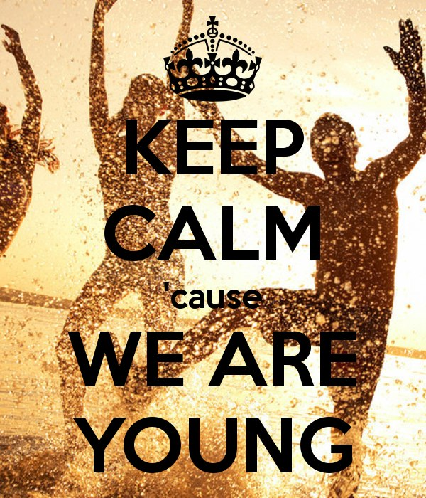 We Are Young Fun.